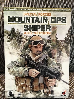 HOT TOYS Mountain OPS SNIPER ACU VERSION