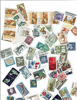 100 Canada  Stamps for a Dollar