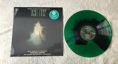 The Fly Coloured Vinyl Soundtrack Collectors Choice Fly Eye Green And Black