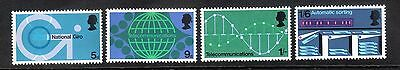 Queen Elizabeth 1969 Commemoratives Sg808-Sg811 1969 Post Office Technology Mnh