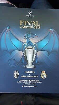 OFFICIAL Uefa champions league final 2017 programme Juventus v Real Madrid
