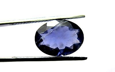 10.60 Ct 1 Piece 100% Natural Iolite Loose Gemstone Oval Cut 13X18MM S92