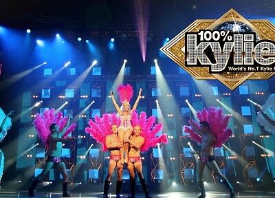 Concert Tickets for 100% Kylie x 2