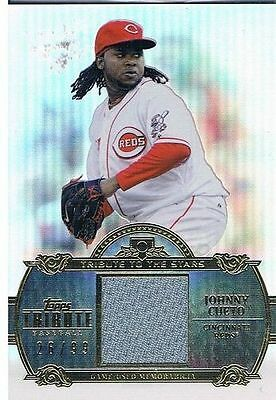 2013 Topps Tribute Tribute to the Stars Relics #JC Johnny Cueto