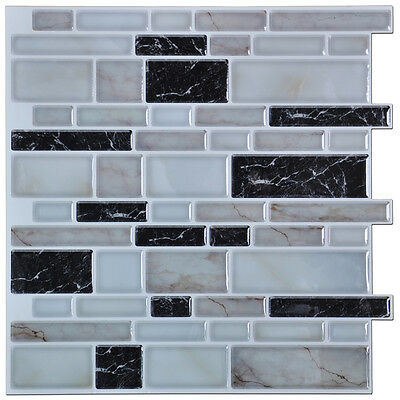 Self-adhesive Vinyl Kitchen Backsplash Tile Pack of 6 & SELF-ADHESIVE VINYL KITCHEN Backsplash Tile Pack of 6 - $25.55 ...