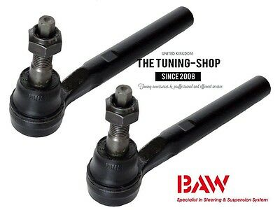 2x Steering Tie Rod End Outer Left + Right 15907712 BAW for HUMMER H3