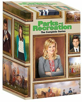 NewParks and Recreation: The Complete Series season 1-7 DVD 2015 20-Disc Box Set