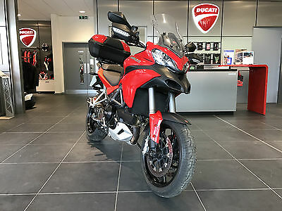 2014 Ducati Multistrada 1200 S Tourin Red