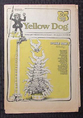 1968 YELLOW DOG v.2 #2 VG/FN 5.0 Double Issue #9/10 R CRUMB Shelton S C Wilson
