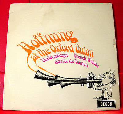 """Gerard Hoffnung At The Oxford Union 7""""EP PC UK ORIG 1968 Decca Bricklayer+ VINYL"""