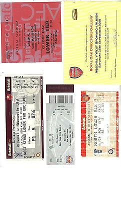 TICKET - ARSENAL v LEICESTER CITY (LAST MATCH OF INVINCIBLES 2003/04 SEASON)