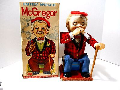 Vintage 1950's Rosko Toys  'Battery Operated McGregor'  No. 078