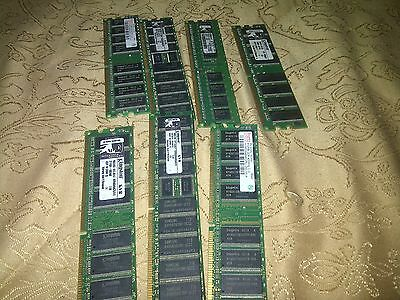Job Lot Of 512Meg Ddr1 So-Dimm Pc Memory Stick Ram Tested