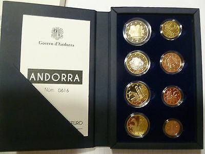 Coffret BE 1 Cent à 2 Euro Andorre 2014 - Coffret BE