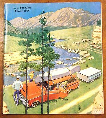 L. L. BEAN Spring 1966 Catalog Pages Clean & Bright