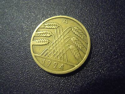 Moneta Del 1924 Deutsches Reich German Germania Garmany (M/4-19)