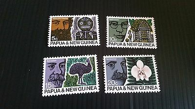 Papua New Guinea  1970 Sg 183-186 42Nd Anzaas  Mnh