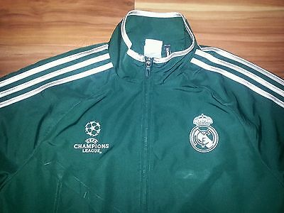 Champions League  Football Soccer Jacket Mens Small size UEFA Authentic Adidas