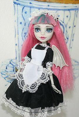 OOAK Monster High Rochelle Goyle with handmade clothes and art