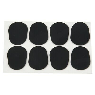 8pcs Alto/Tenor Saxophone Sax Mouthpiece Patches Pads Cushions Black---0.8 Q1G4