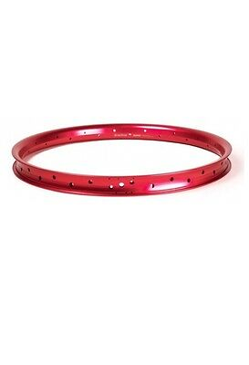 Salt Plus Summit BMX Rim 36h Red Alloy Double Wall