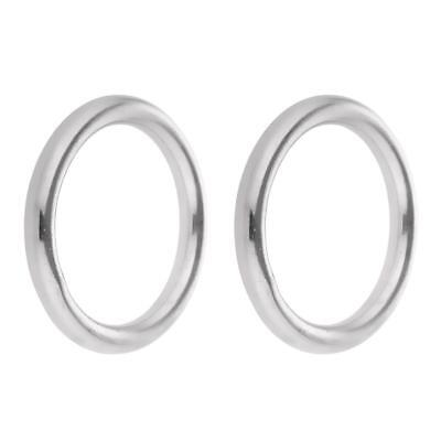 Polished Welded 304 Stainless Steel O-ring 40// 50// 60// 70// 80// 90// 100mm Ring