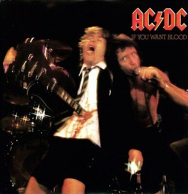 Ac/dc : If You Want Blood : Brand New & Sealed Vinyl Lp