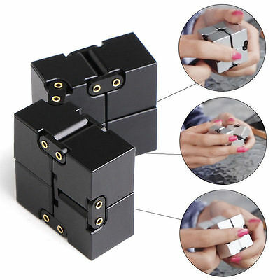 Magical Cube Mini Infinity For Stress Relief Fidget Anti Anxiety Funny Great Toy