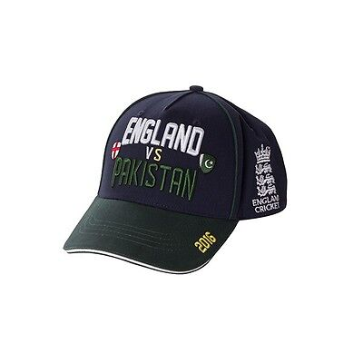 England Cricket Pakistan Series Supporter Cap - Navy - One Size Mens