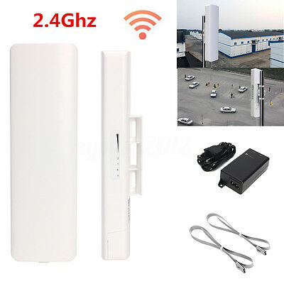 150Mbps 2.4GHz High Power Outdoor Wireless Access Point WiFi AP CPE POE