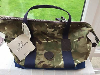 Chapman Camo Holdall/Sports Bag  - Hand Crafted, Brand New Cost £225 retail.