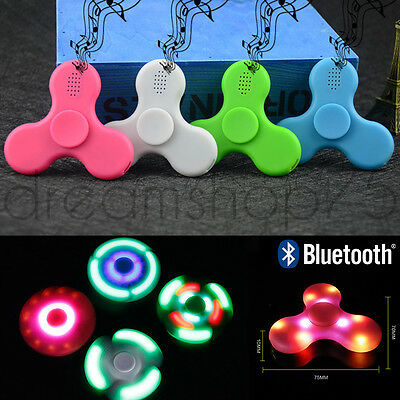 Hand Spinner Bluetooth Roulement 3D Jouet Anti-Stress Adulte Enfant Edc Adhd
