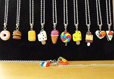 Wholesale Jewellery Joblot 12 Necklaces, Fimo Character Pendant.gift, Party Bags