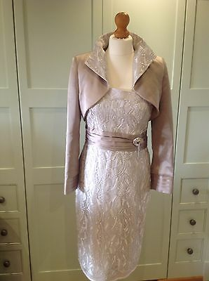'Mother of the Bride'  MIreia Dress And Jacket - Amazing RRP £599.00! Size 10.