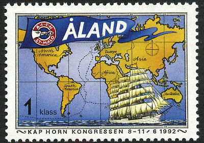 Aland 63 MNH - Cape Horn Congress