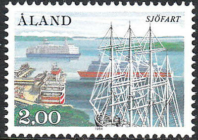 Aland 23 MNH - Mariehamn West Harbor