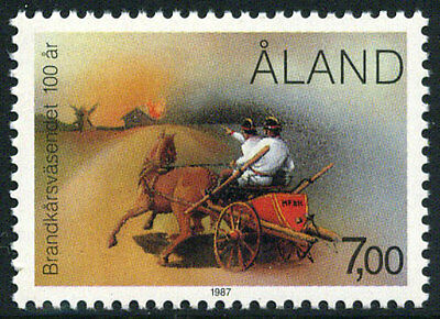 Aland 26 MNH - Volunteer Fire Brigade
