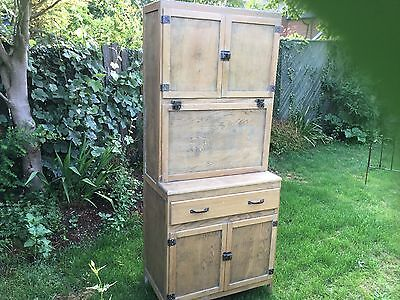 Retro Oak Kitchen Cupboard