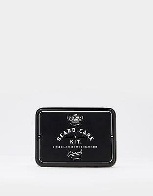 Joules Beard Care Kit in Black in One Size