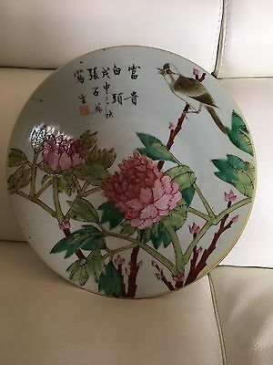 Chinese Porcelain Plate ,piatto Cinese