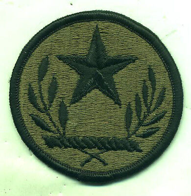US Army Texas National Guard Subdued Merrowed Edge Patch