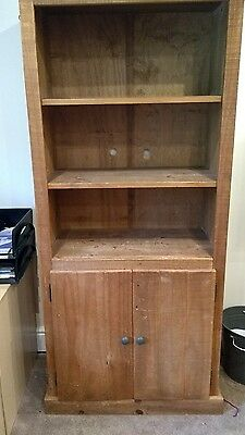 Pine Mexican Style Bookcase