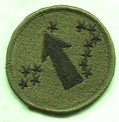 Vintage US Army Pacific OD Subdued Patch
