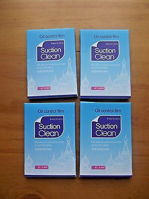 *NEW* Bioaqua face blotting tissue paper oil control x 4 packs 100 sheets.