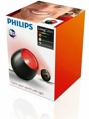 Black Philips LivingColours Micro LED Table Mood Lamp Light colors new modern