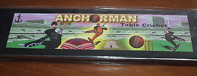 ANCHORMAN BOXED CRICKET GAME (a more robust version of Subbuteo Cricket)