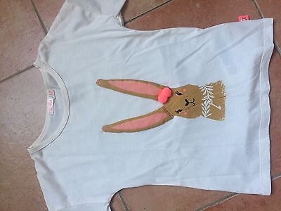Tshirt Fille Manches Longues Billieblush Beige/rose 5 Ans