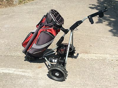Golf Trolly - Powercaddy Freeway with battery and bag