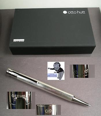 # Otto Hutt ballpoint in Sterling Silver  nice Design Made in Germany  #