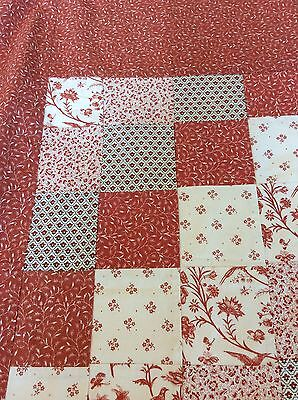 Vintage Laura Ashley Patchwork Throw